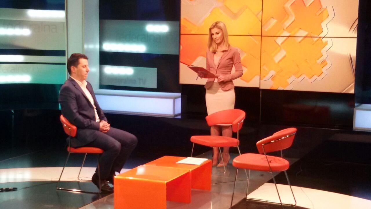 FTV emisija Federacija plus Tarik Agetovic