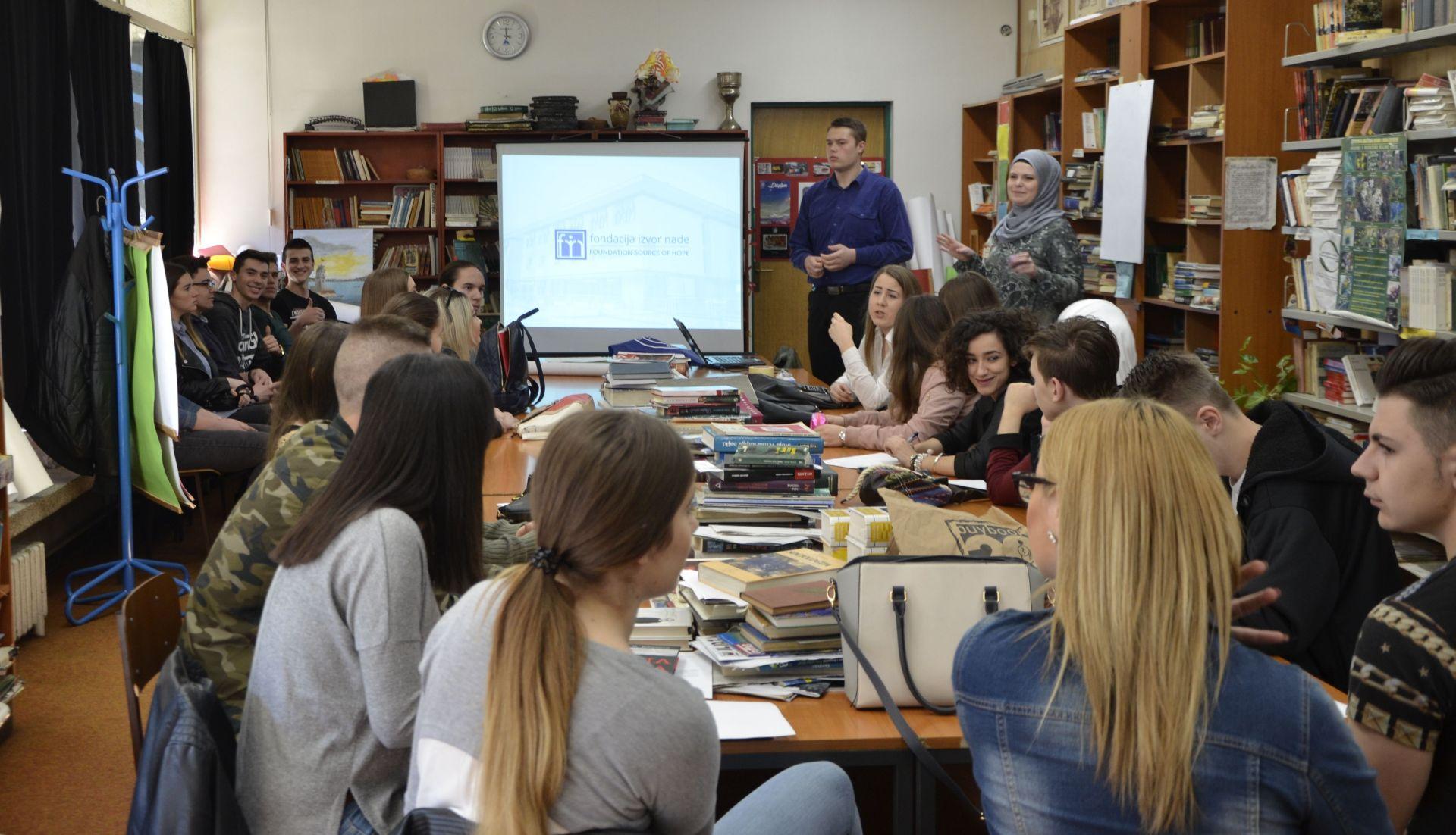 Mini skola neformalne edukacije Fondacija Izvor nade