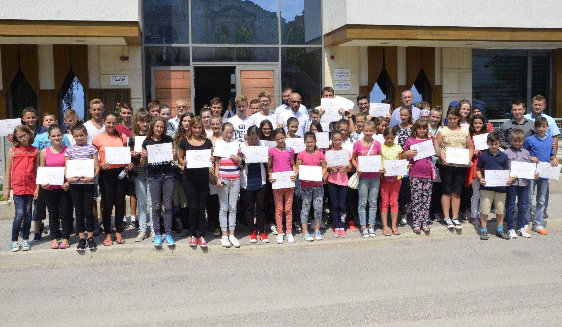 Ljetna skola za djecu iz povratnickih mjesta 2017, Fondacija Izvor nade