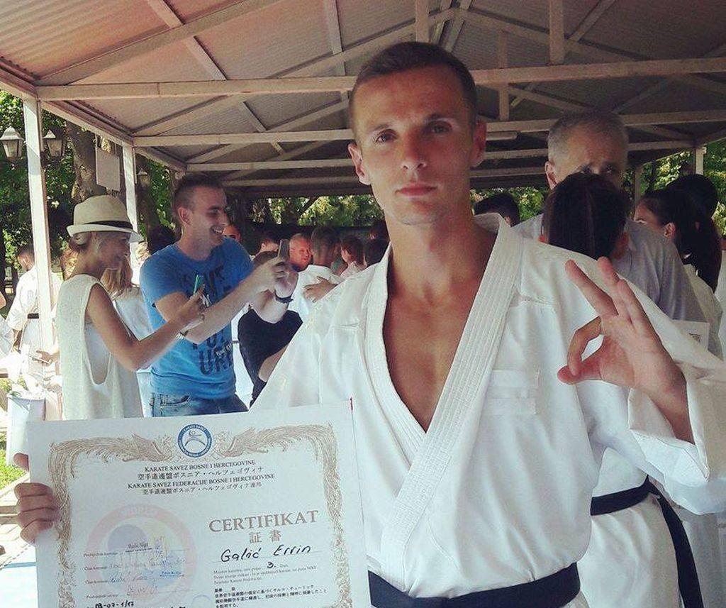 Ervin Galić. Njemačka, septembar 2017. - majstor karatea 3. dan