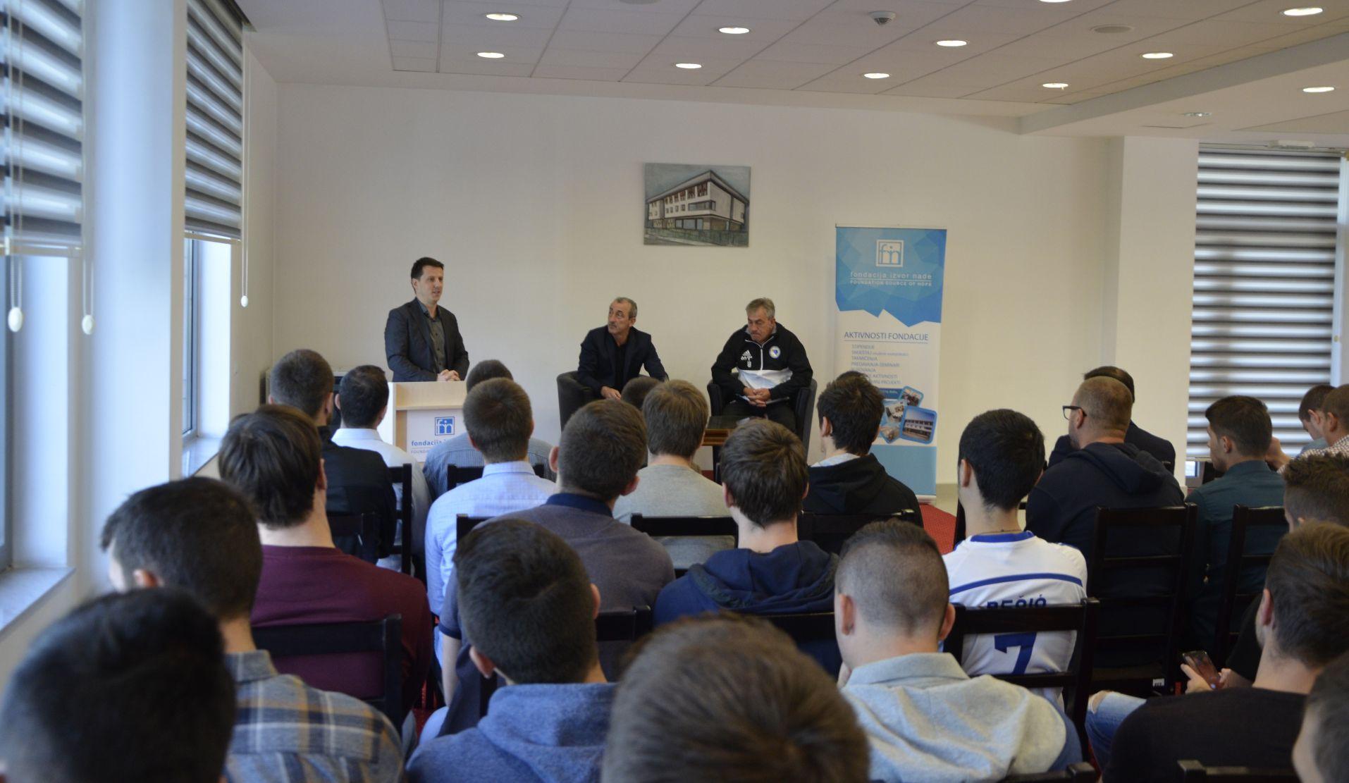 Mehmed Bazdarevic u posjeti Fondaciji Izvor nade 1.10.2017.