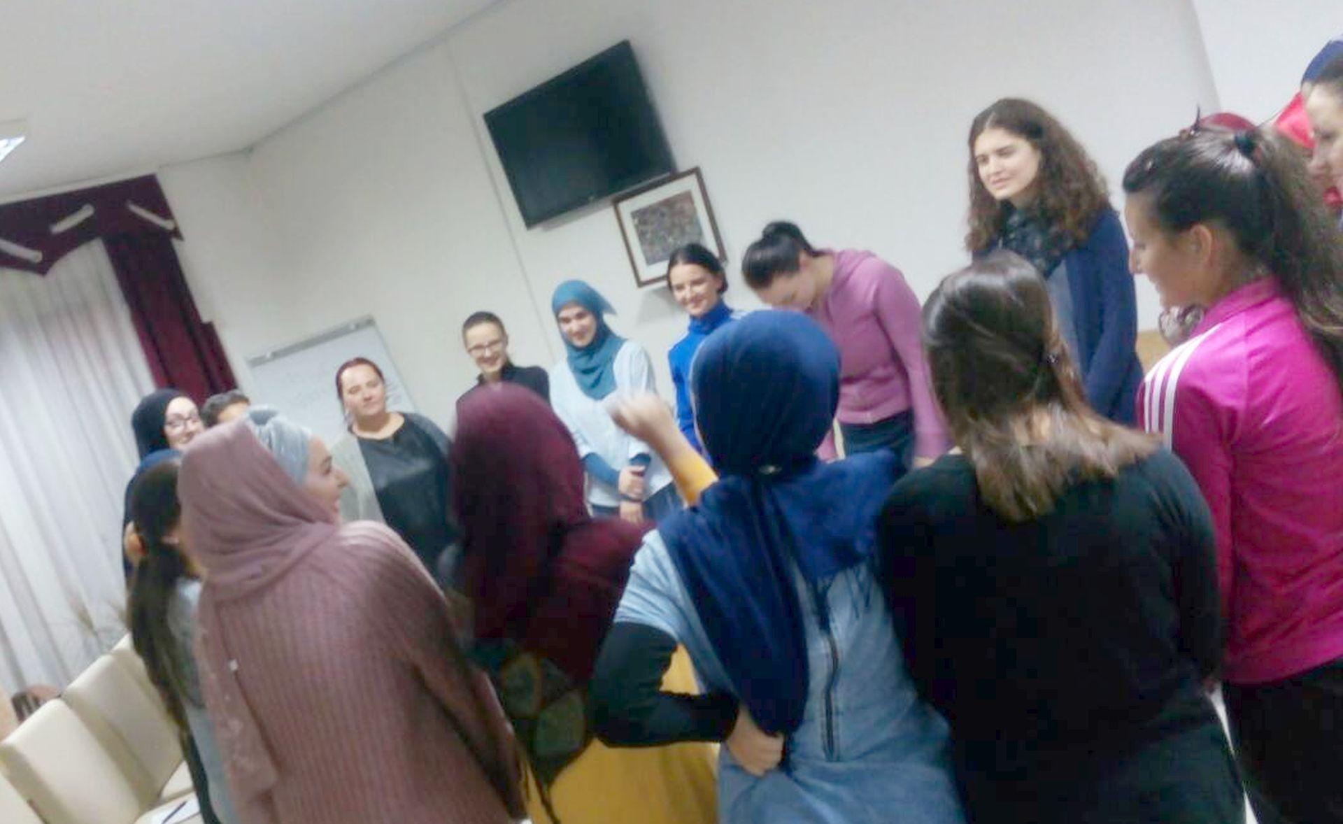 Amra Pandzo 2017 Fondacija Izvor nade - serija radionca