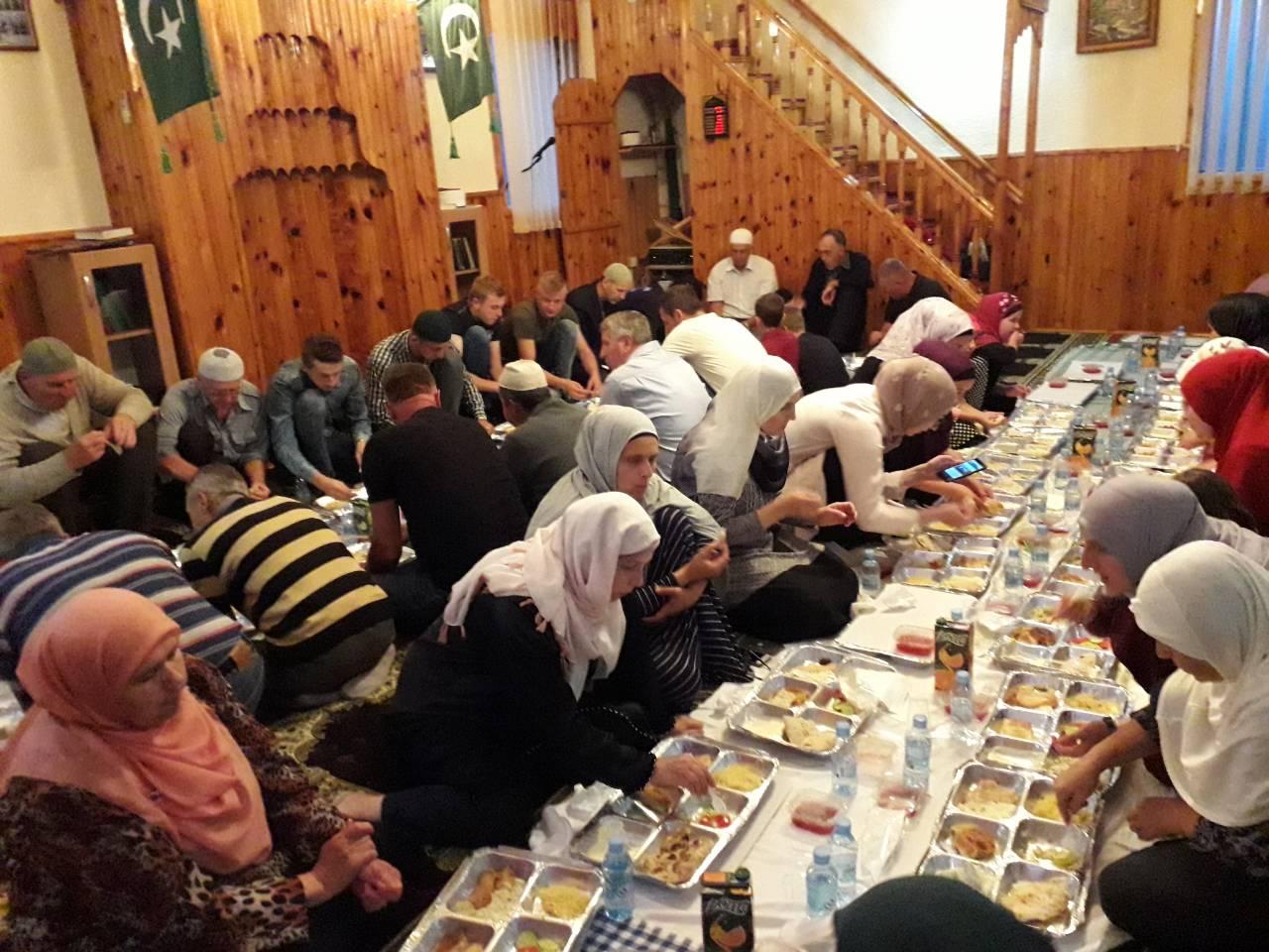 Iftar i posjeta selu Nažbilj 6.6.2018. c