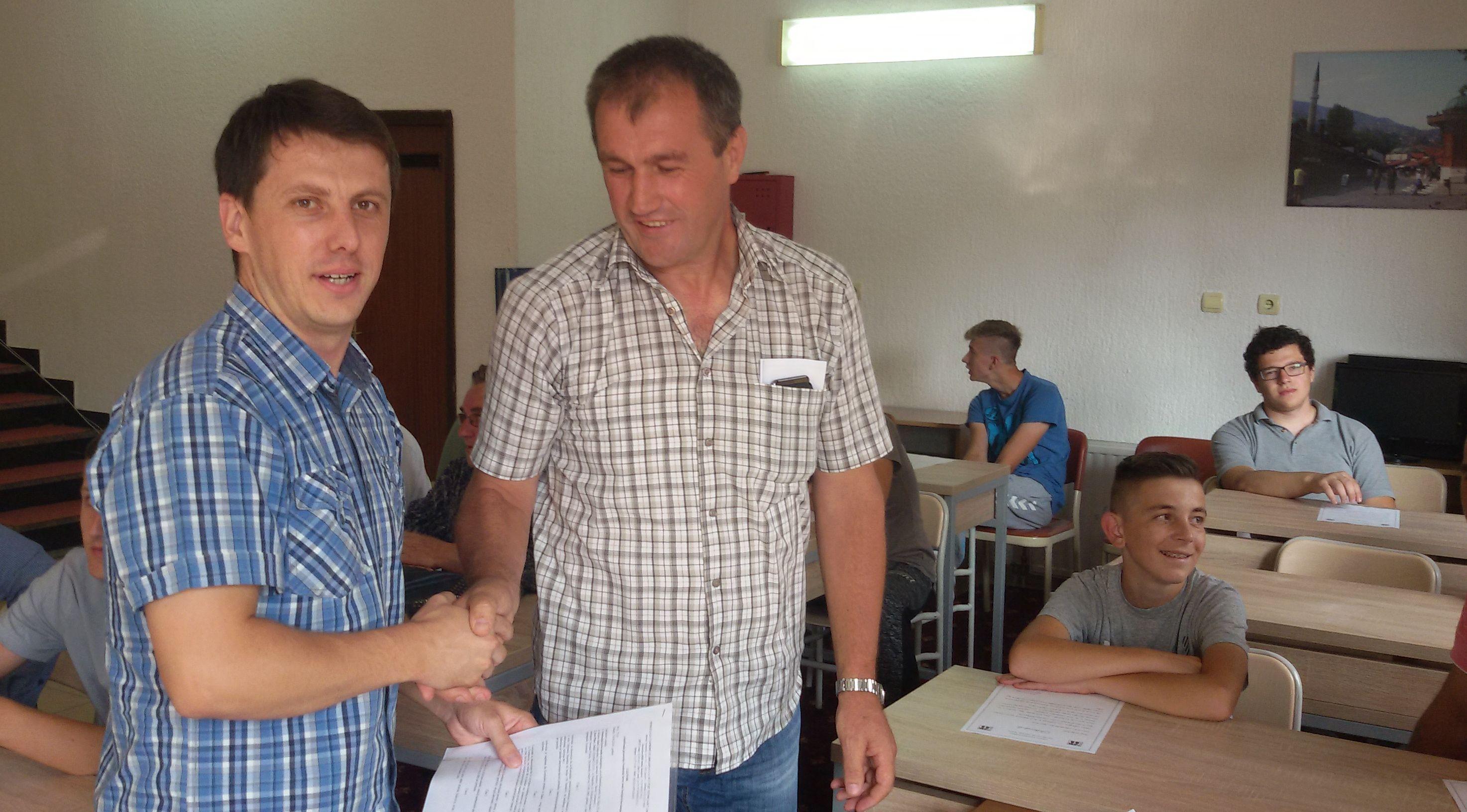 Potpisivanje ugovora s roditeljima stipendista