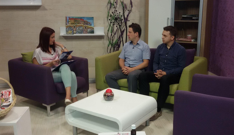 Gostovanje u Jutarnjem programu TV Alfa 2. septembar 2016.
