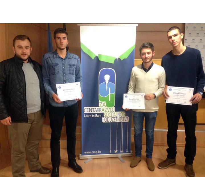 Basic, Dizdarevic i Safic u projeku Edukuj se i pokreni biznis