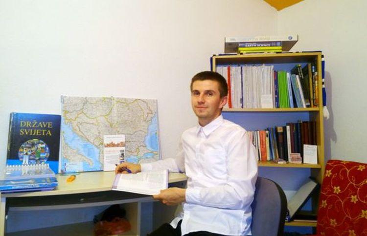 Amil Mehić, stipendist Fondacije Izvor nade
