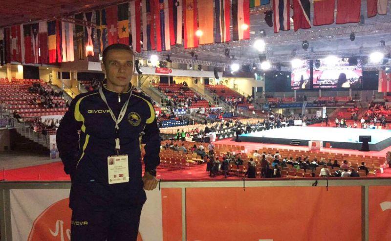 Ervin Galic na SP u karateu 2016.