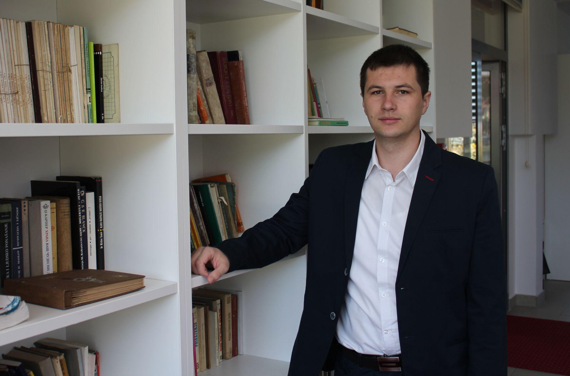 Nermin Veladžić, aktivista Fondacije Izvor nade