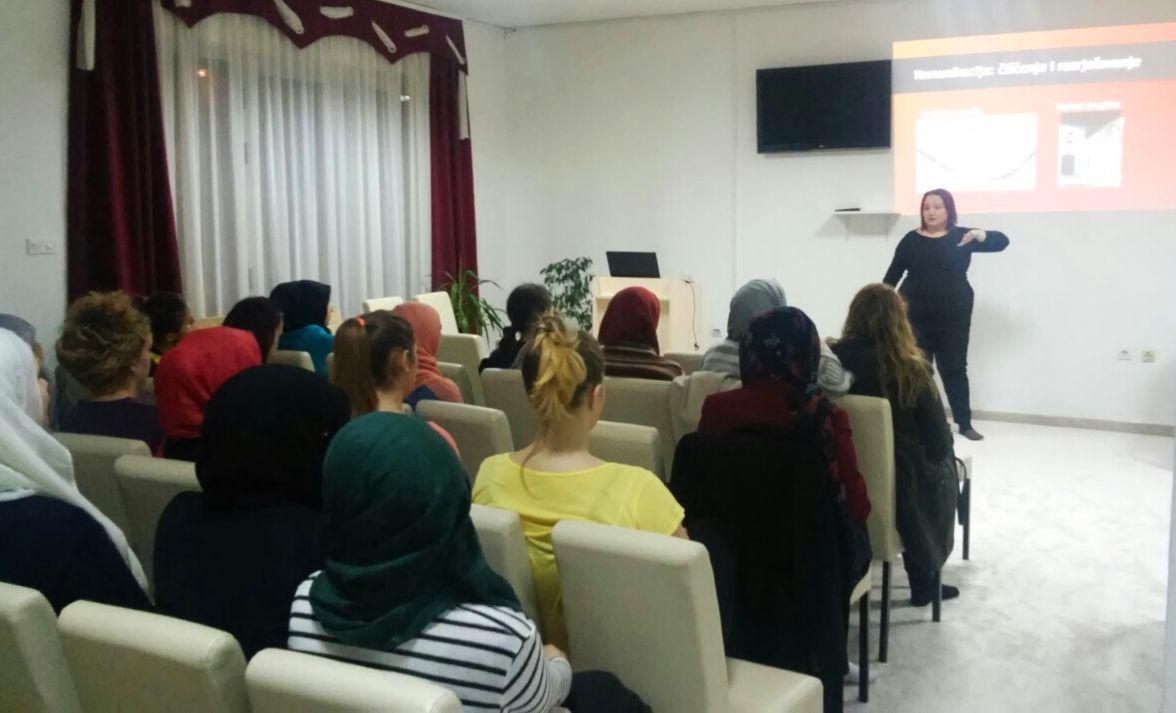 Amra Pandžo, predavanje o emocionalnoj inteligenciji