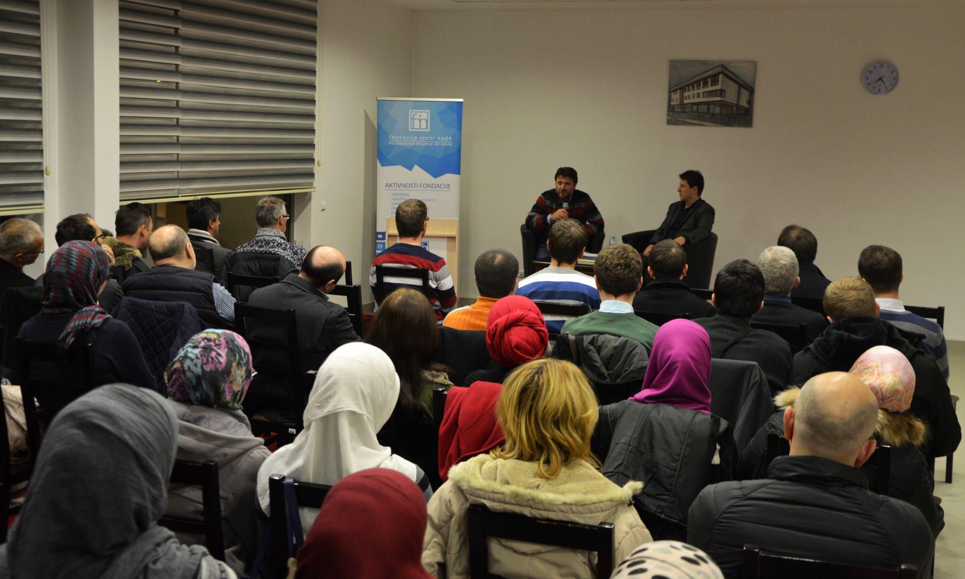 Elharun Selimovic, predavanje u Studentskom domu Izvor nade, 27.12.2016.
