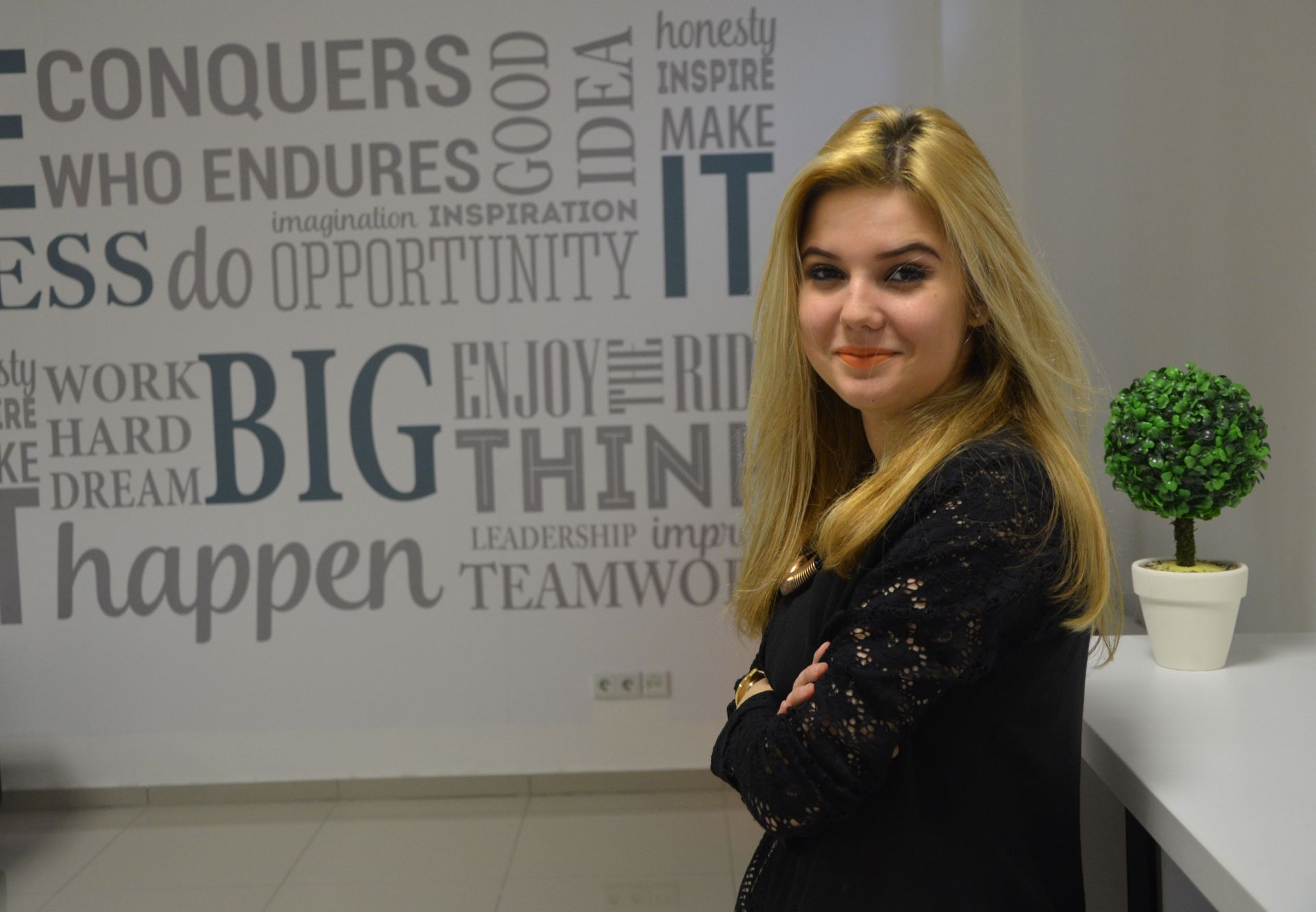 Delila Bajric, stipendistica Fondacije Izvor nade
