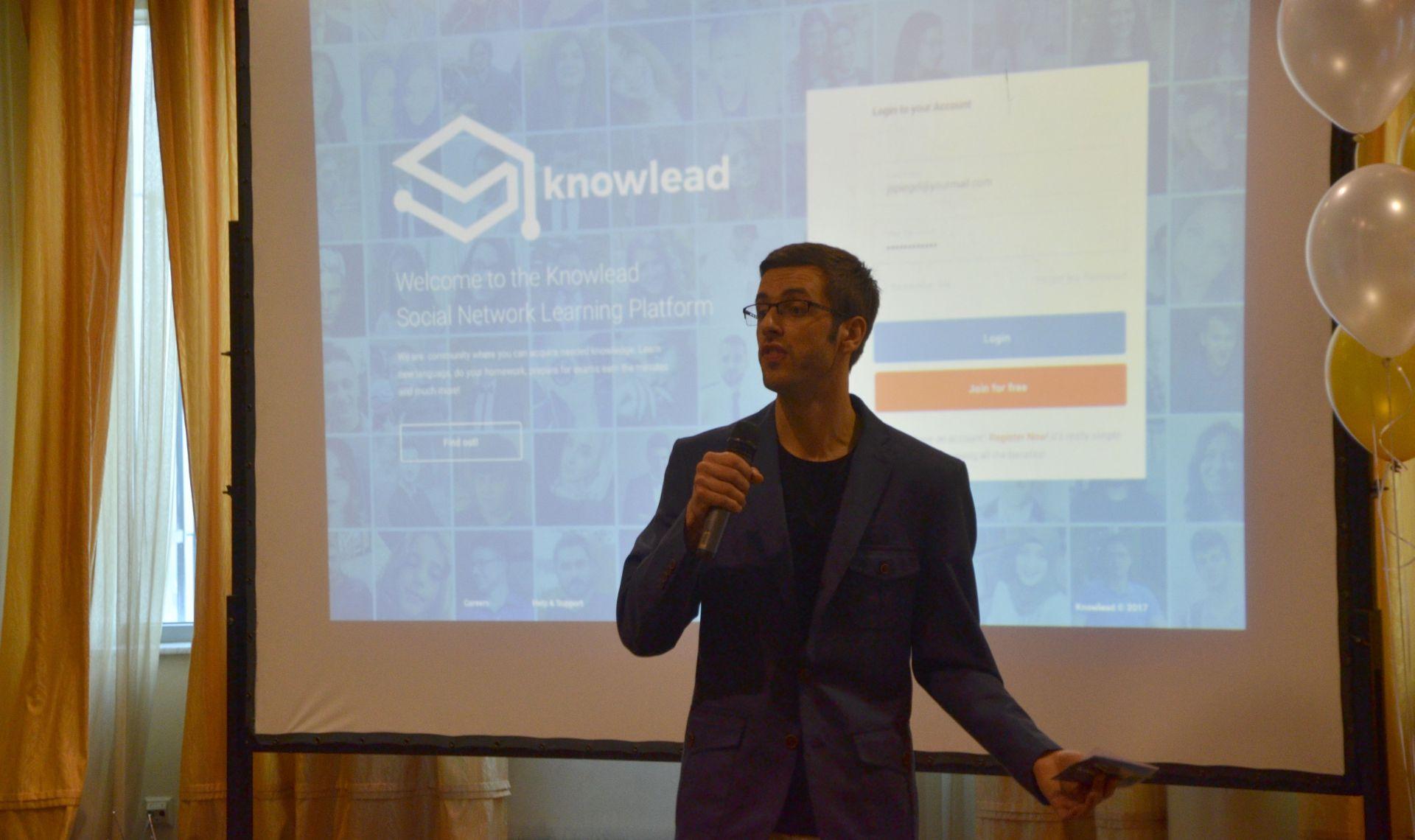 Ekrem Nurović, osnivač Knowlead platforme