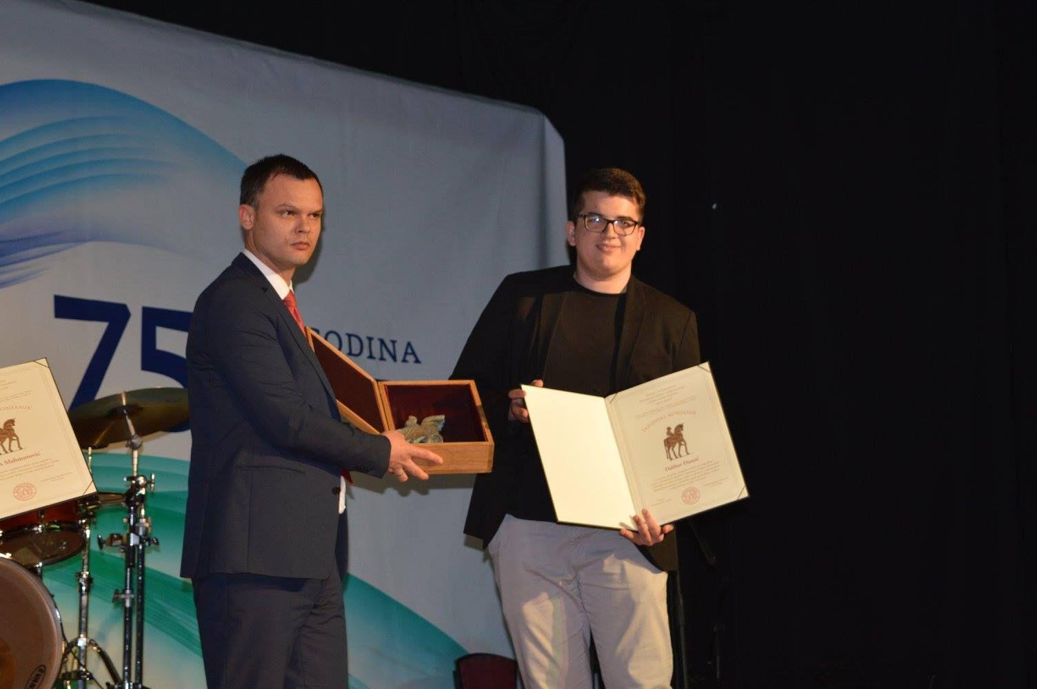 Dalibor Djumic dobitnik nagrade Japodski konjanik