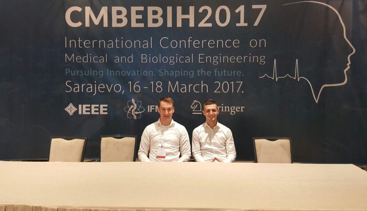 Ahmed Osmanovic i Sabahudin Cordic, učesnici Međunarodne konferencije CMBEBIH 2017.