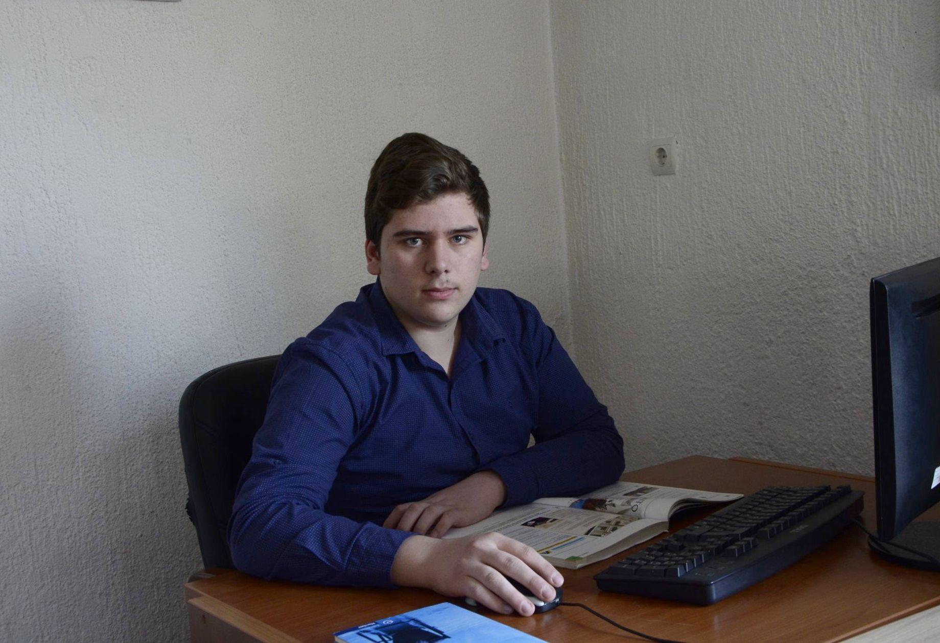 Tarik Džindo, stipendista Fondacije Izvor nade