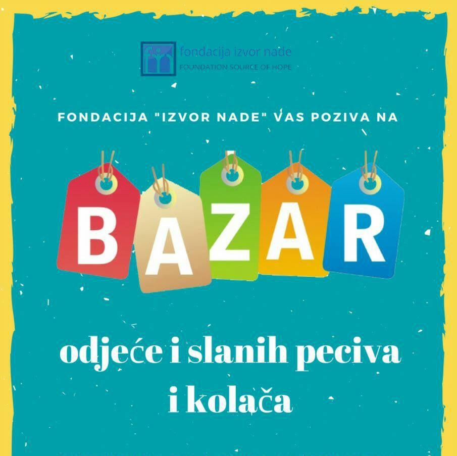 Bazar odjece, Ured Fondacije Izvor nade Nedzarici