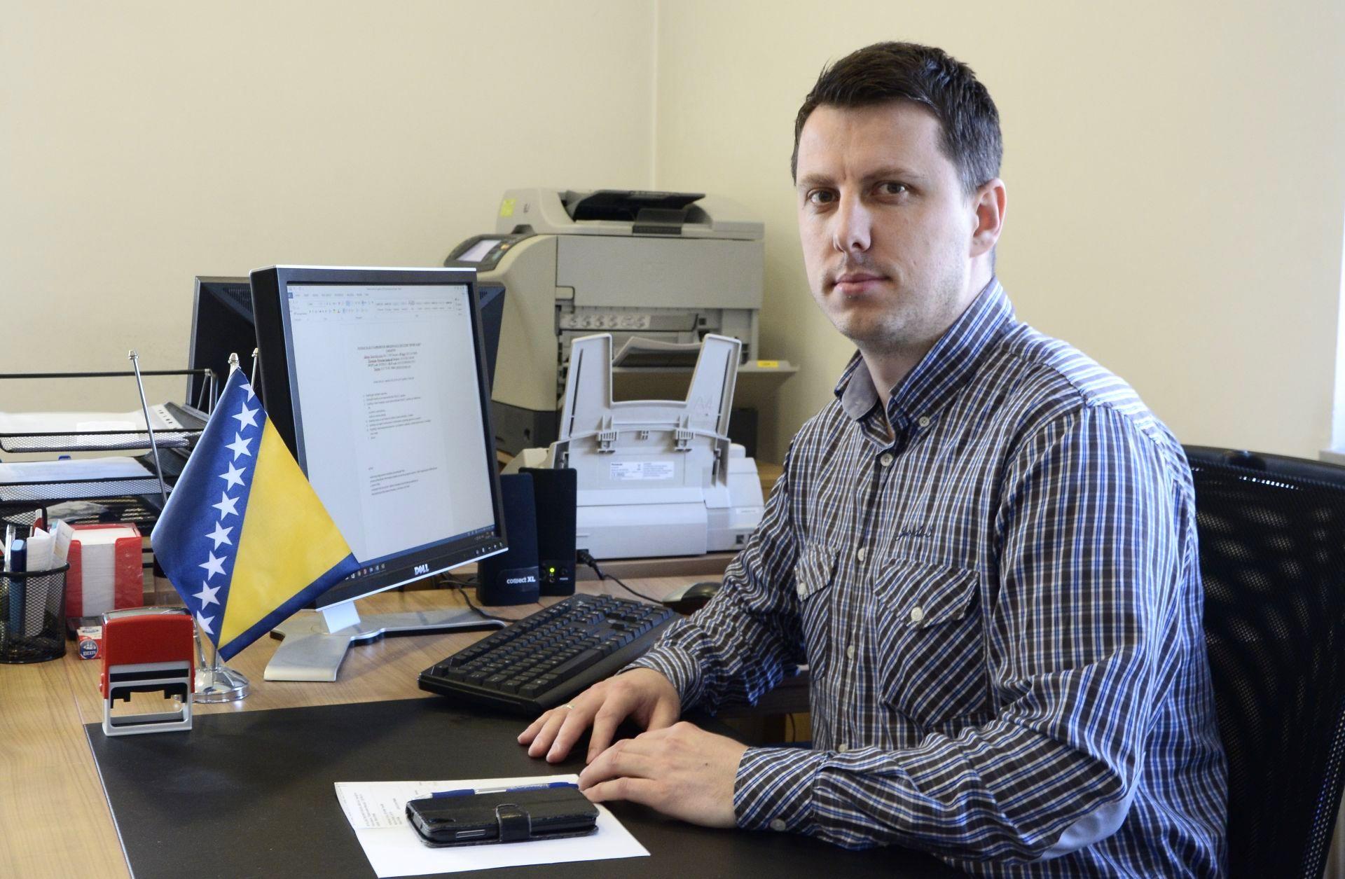 Tarik Agetovic, direktor Fondacije Izvor nade