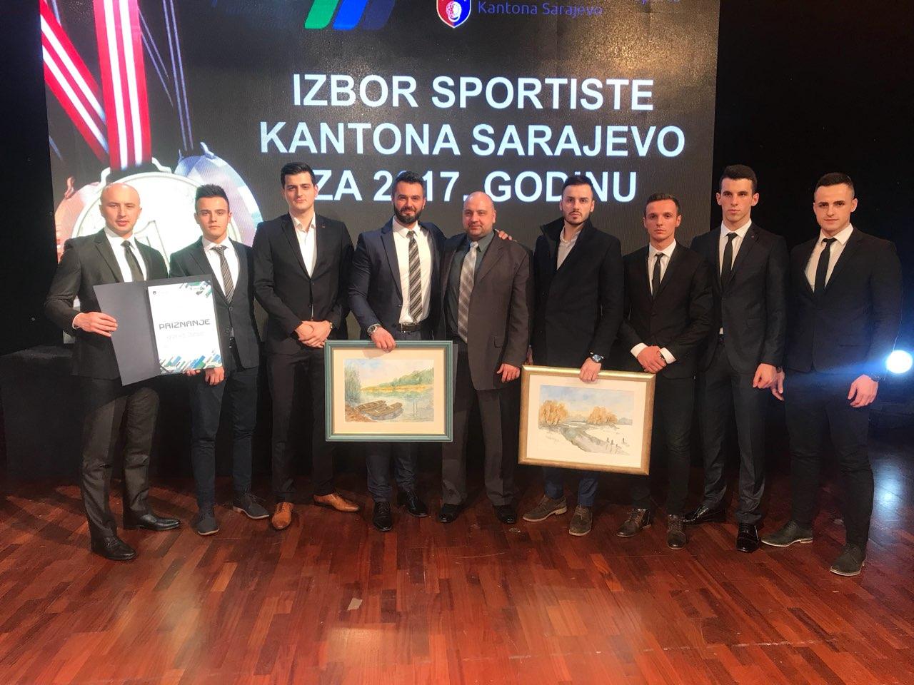 Galic i KK Champion najbolja muska ekipa 2017