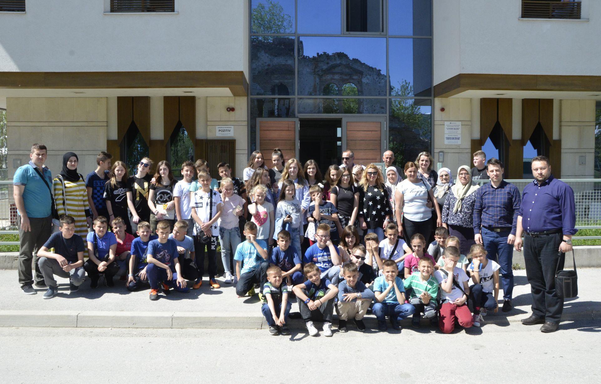 Posjeta djece iz Novih Miljanovaca 22. april 2018 a