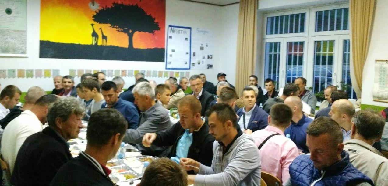 Iftar u džematu Šćipe, MIZ Prozor 23.05.2018.