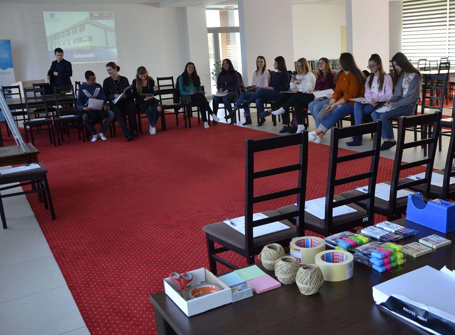 Mini-skola za mlade Opcine Ilidza 27.10.2018.e