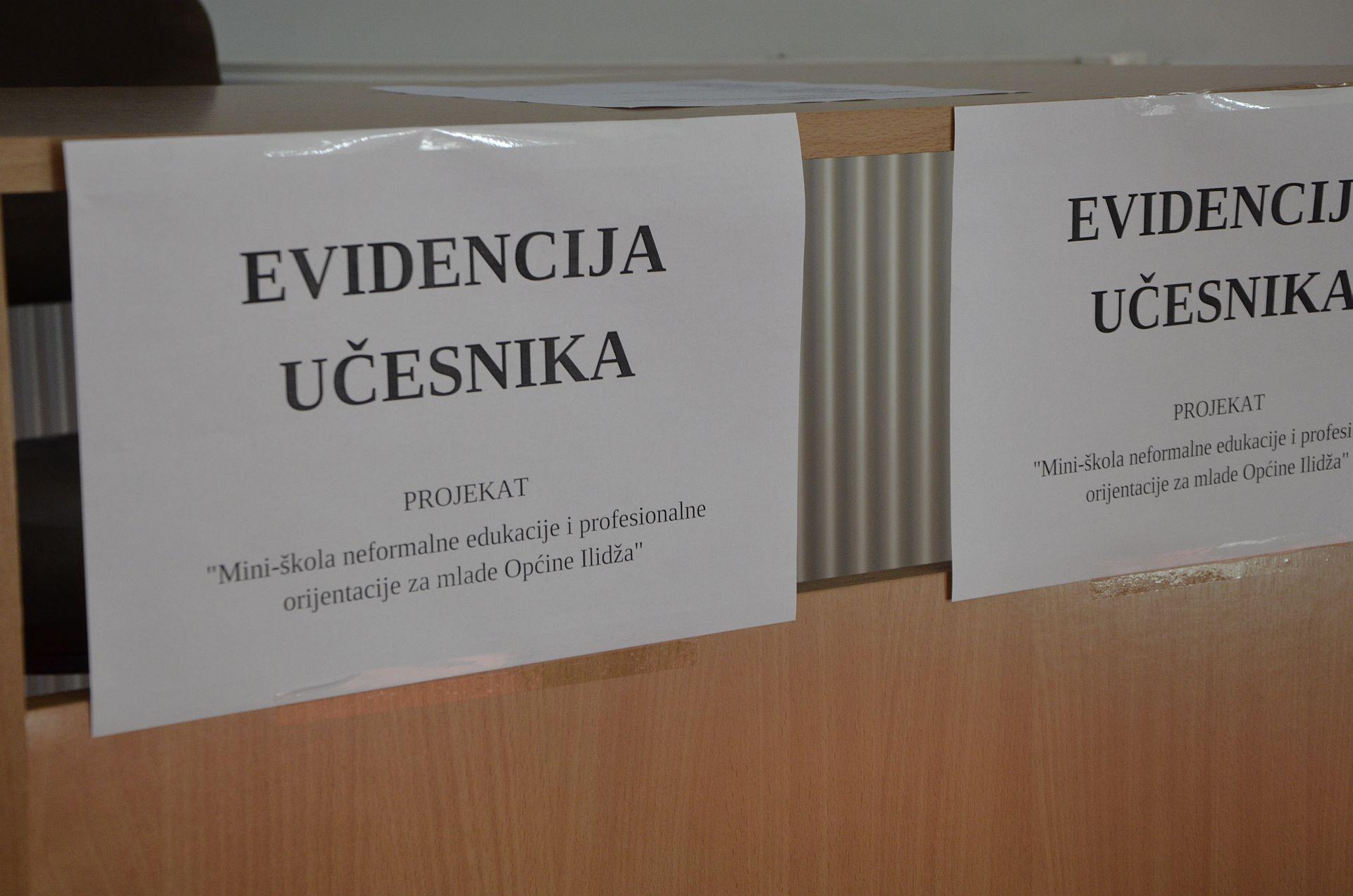 Mini-skola za mlade Opcine Ilidza 27.10.2018.f