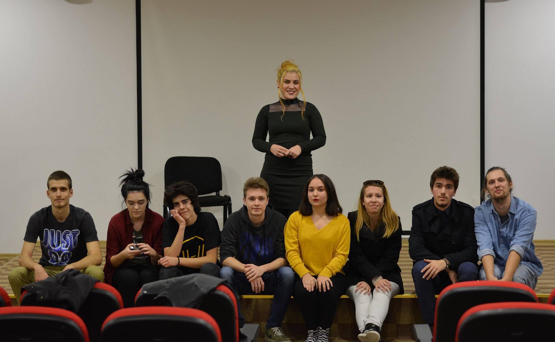 Dragana Vučković u učesnicima projekta U 4 zida