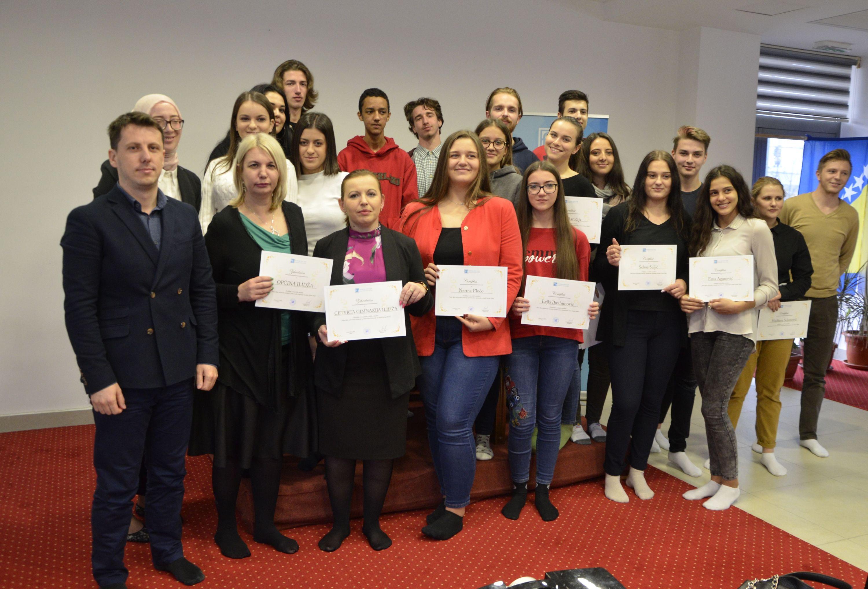 Zavrsna svecanost Mini-skola za mlade Opcine Ilidza, 2.11.2018