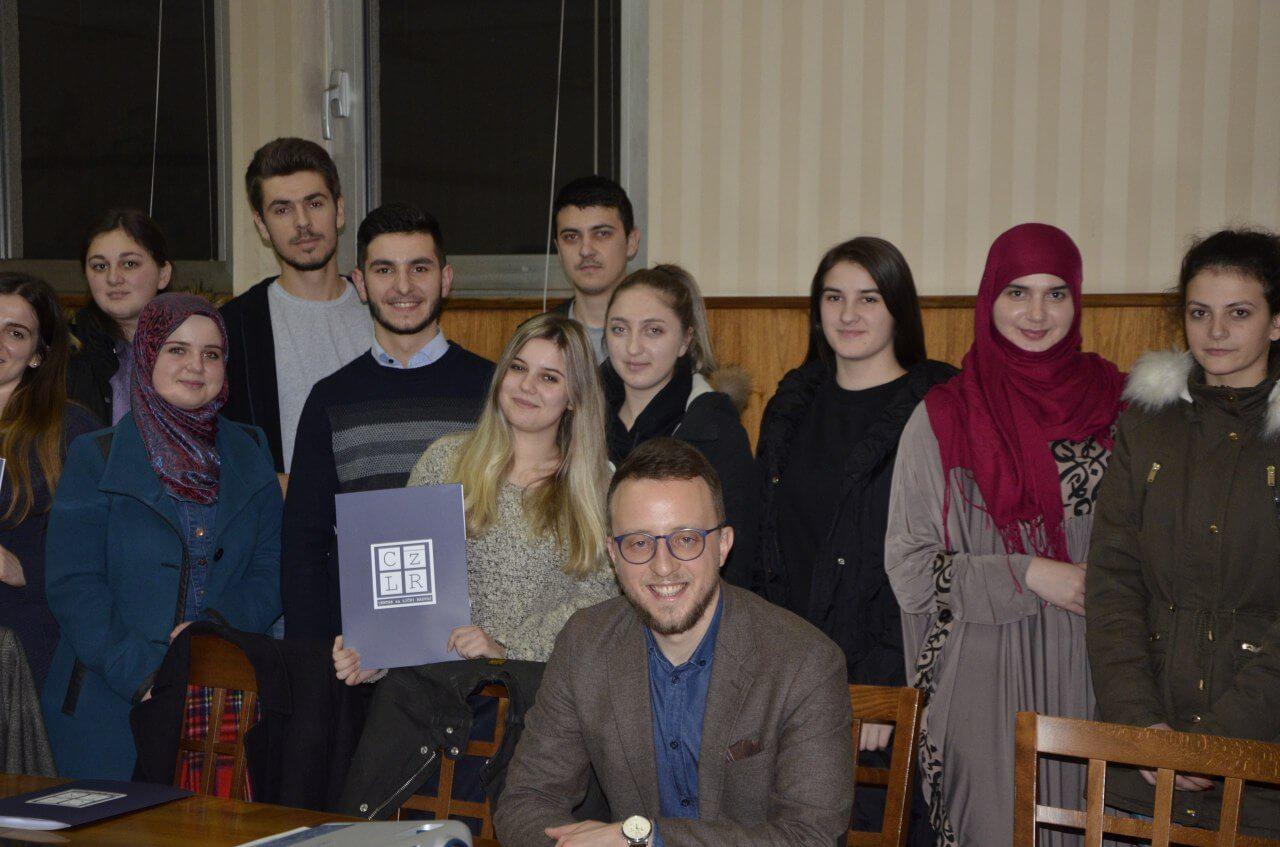 Radionica za stipendiste Fondacije CZLR 25.12.2018.