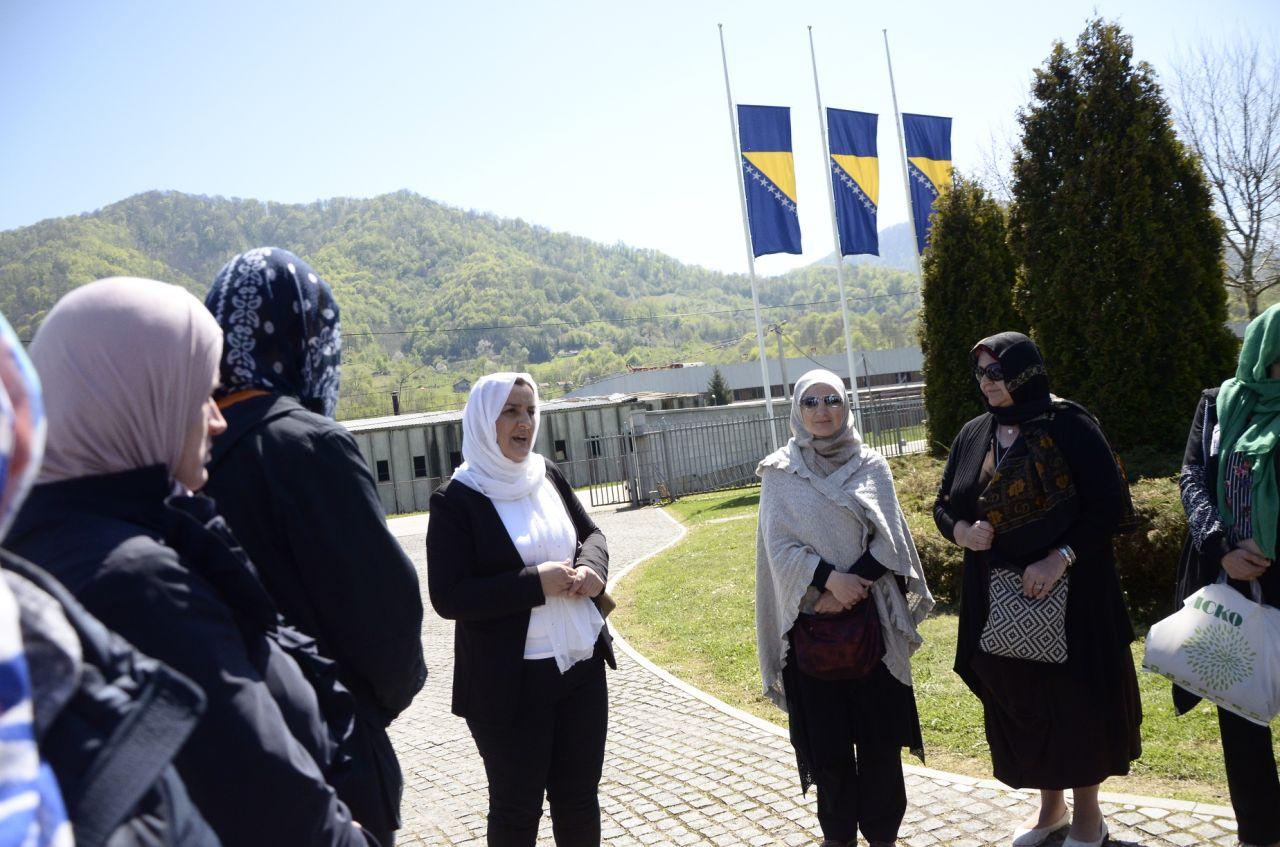 Posjeta Srebrenici projekat Domovina kroz historiju 4