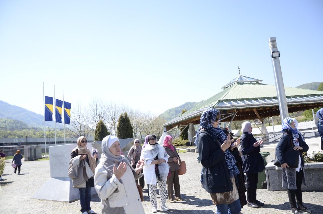 Posjeta Srebrenici projekat Domovina kroz historiju 6