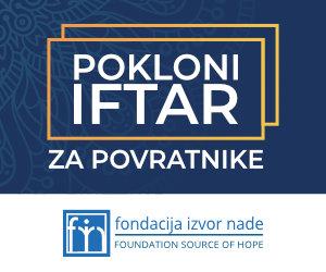 Akcija Iftari 2019. Fondacija Izvor nade