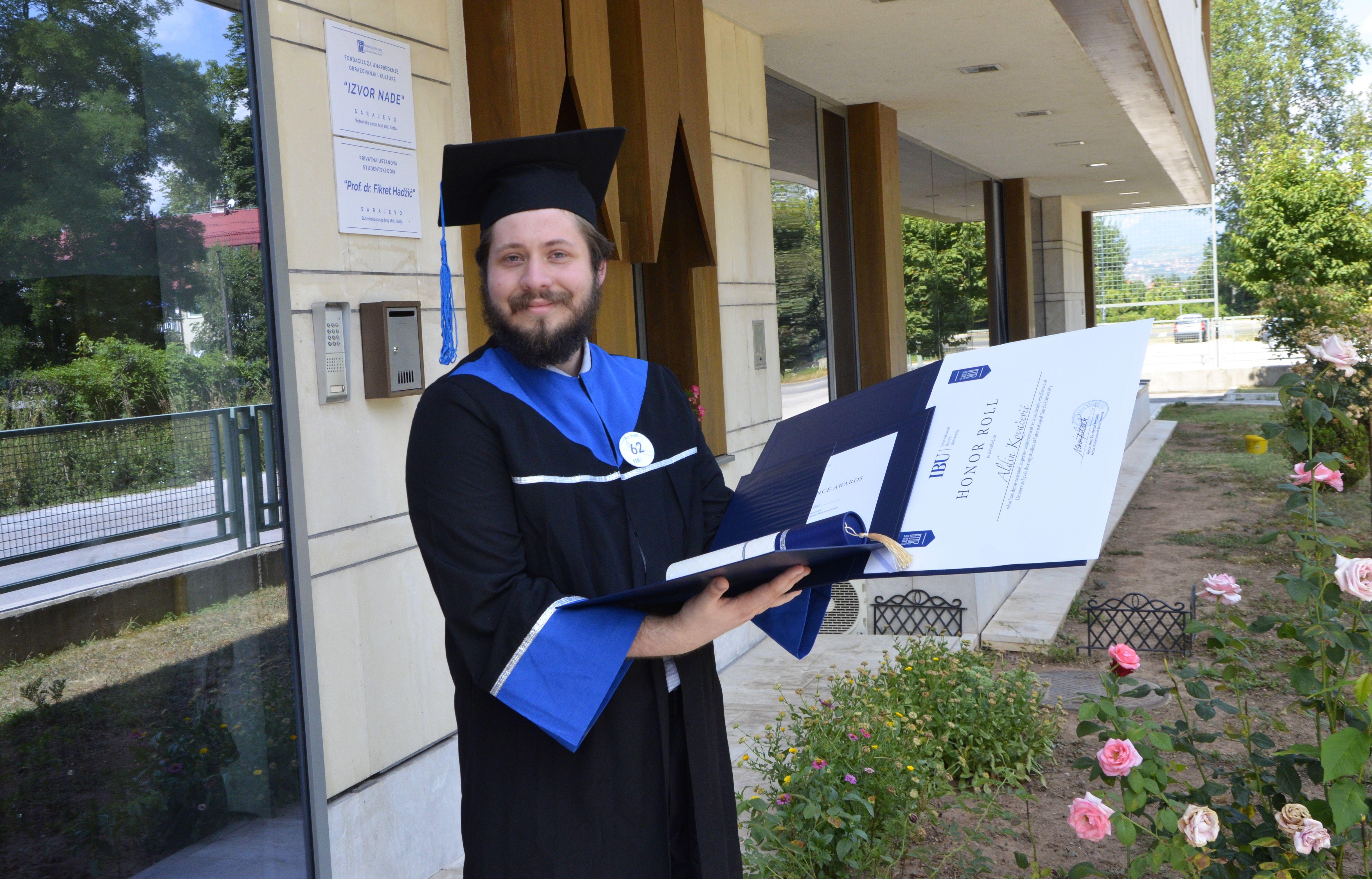 Aldin Kovačević, student generacije 2019.