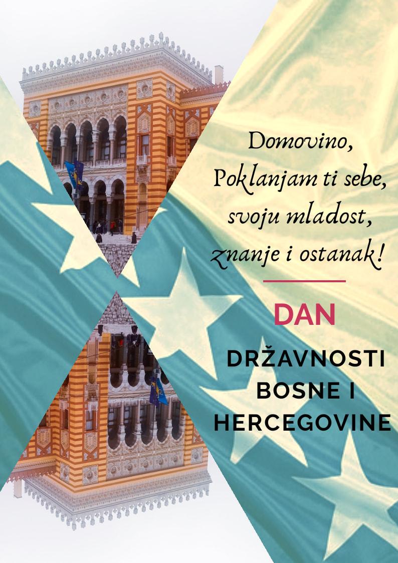 Amina Perenda, Travnik Moja čestitka domovini Fondacija Izvor nade