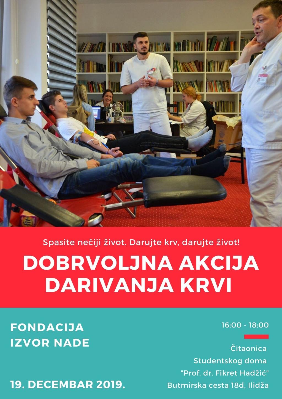 Plakat Darivanje krvi 2019_web_ Fondacija Izvor nade