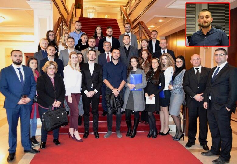 Sulejman Abazovic, stipendista Fondacije Izvor nade, učesnik Akademije za politicke lidere BiH
