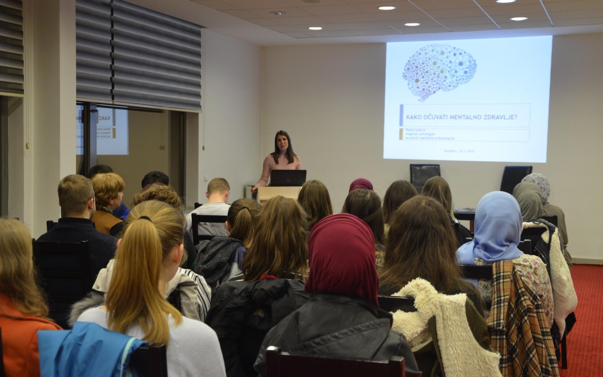 Kako ocuvati mentalno zdravlje - predavanje Bisere Sofovic 25.2.2020.