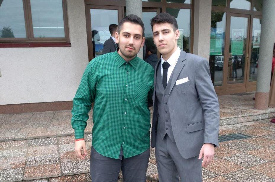 Halid i Fadil Merdic, stipendisti Fondacije Izvor nade