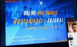 Online kviz Fondacije Izvor nade 2.4.2020_